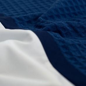 Dommelin Dekbedovertrek Bari Blauw Navy lits-jumeaux