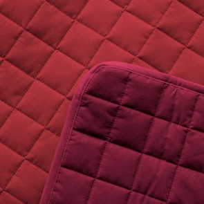 Dommelin Sprei Block Rosso Cherry
