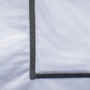 Dommelin Kussensloop Cortina Wit Antraciet 60 x 70 cm