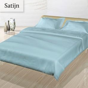 Dommelin Dekbedovertrek Deluxe Satijn Pastelblauw lits-jumeaux