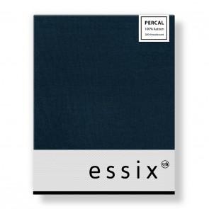 Essix Hoeslaken Percal Bleu Nuit