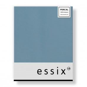 Essix Hoeslaken Percal Bleu Glacier