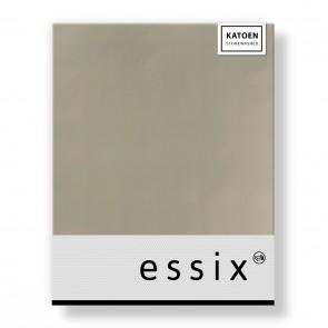 Essix Hoeslaken Stonewashed Katoen Biscuit
