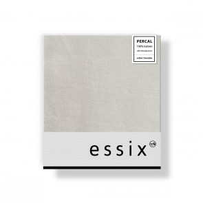 Essix Kussensloop 4 volant Percal Gris Perle