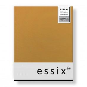 Essix Dubbelsplit Hoeslaken Percal Sahara