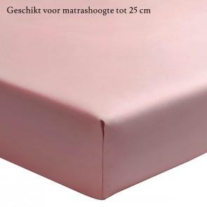Essix Hoeslaken Percal Poudre 200 x 210 cm