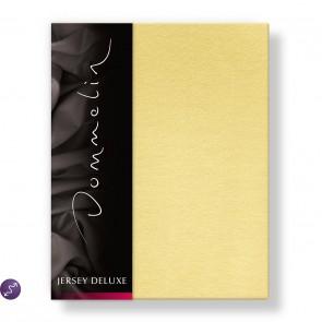 Dommelin Hoeslaken Jersey Deluxe Geel