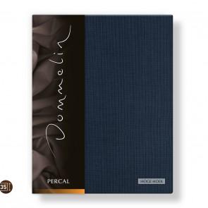 Dommelin Hoeslaken Hoge Hoek Deluxe Percal Nachtblauw 160 x 200 cm