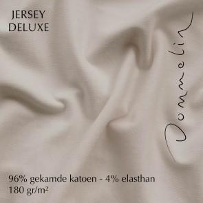 Dommelin Hoeslaken Jersey Deluxe Beige