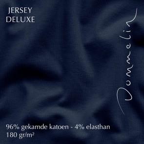 Dommelin Hoeslaken Jersey Deluxe Marine
