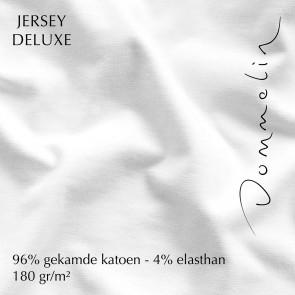 Dommelin Split Hoeslaken Jersey Deluxe Wit