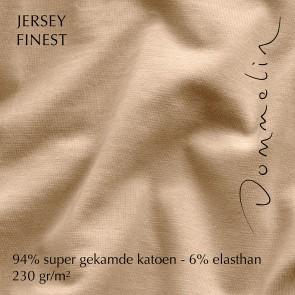 Dommelin Hoeslaken Jersey Finest Zand