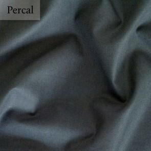 Dommelin Split Topper Hoeslaken 10-14 cm Percal 200TC Donkergrijs