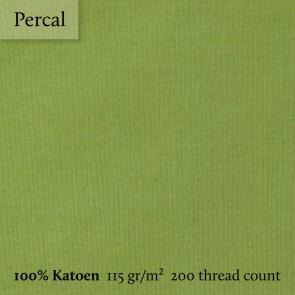 Dommelin Split Topper Hoeslaken Percal 200TC Groen