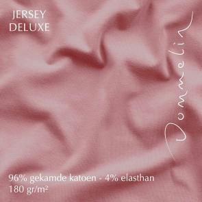 Dommelin Hoeslaken Jersey Deluxe Oudroze