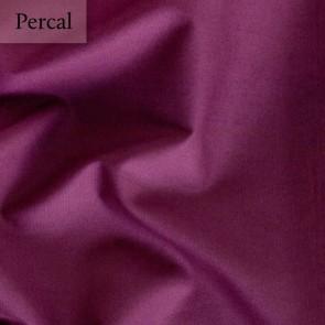 Dommelin Split Topper Hoeslaken 10-14 cm Percal 200TC Aubergine