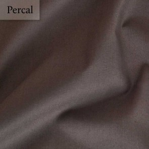 Dommelin Split Topper Hoeslaken 10-14 cm Percal 200TC Bruin