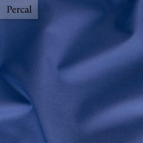 Dommelin Dubbel Split Hoeslaken Percal 200TC Jeansblauw
