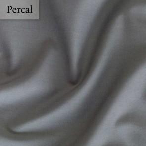 Dommelin Dubbel Split Hoeslaken Percal 200TC Leisteengrijs