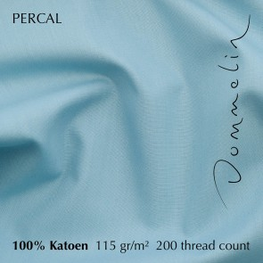 Dommelin Laken Percal 200TC Pastelblauw