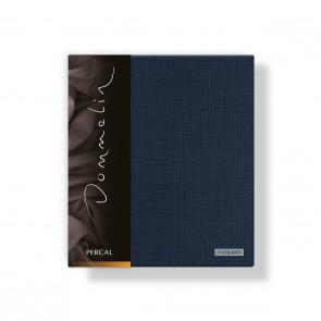 Dommelin Kussensloop 3 Volant Deluxe Percal Nachtblauw