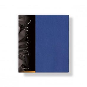 Dommelin Kussensloop Deluxe Percal Jeansblauw 60 x 70 cm