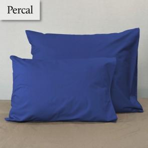 Dommelin Kussensloop Percal 200TC Jeansblauw 60 x 70 cm