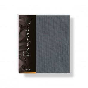 Dommelin Kussensloop Deluxe Percal Olifantgrijs 35 x 50 cm