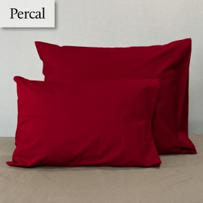 Dommelin Kussensloop Percal 200TC Rosso 80 x 80 cm