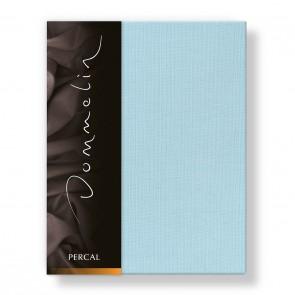 Dommelin Laken Deluxe Percal Pastelblauw