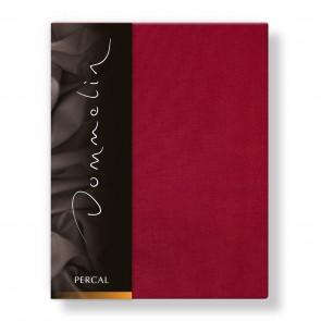 Dommelin Laken Deluxe Percal Rosso