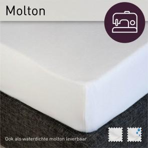 Dommelin Molton Geplastificeerd Hoeslaken (Waterdicht) 200 x 260 cm (maatwerk)