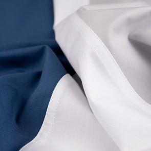 Dommelin Dekbedovertrek Padua Zilver Wit Nachtblauw eenpersoons