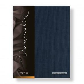 Dommelin Split Hoeslaken Deluxe Percal Nachtblauw