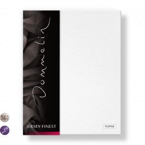 Dommelin Topper Hoeslaken Jersey Finest Wit 140 x 200 cm
