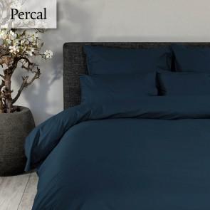 Dommelin Dekbedovertrek Deluxe Percal Nachtblauw eenpersoons