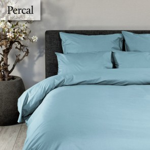 Dommelin Dekbedovertrek Deluxe Percal Pastelblauw
