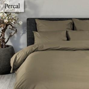 Dommelin Dekbedovertrek Deluxe Percal Taupe lits-jumeaux